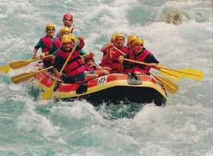 White Water Rafting in Washington